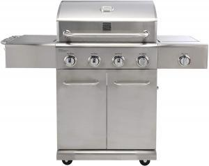 Kenmore PG-40405S0LA Stainless Steel 4 Burner Outdoor Patio Gas BBQ Propane Grill