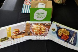HelloFresh unboxed and laid out