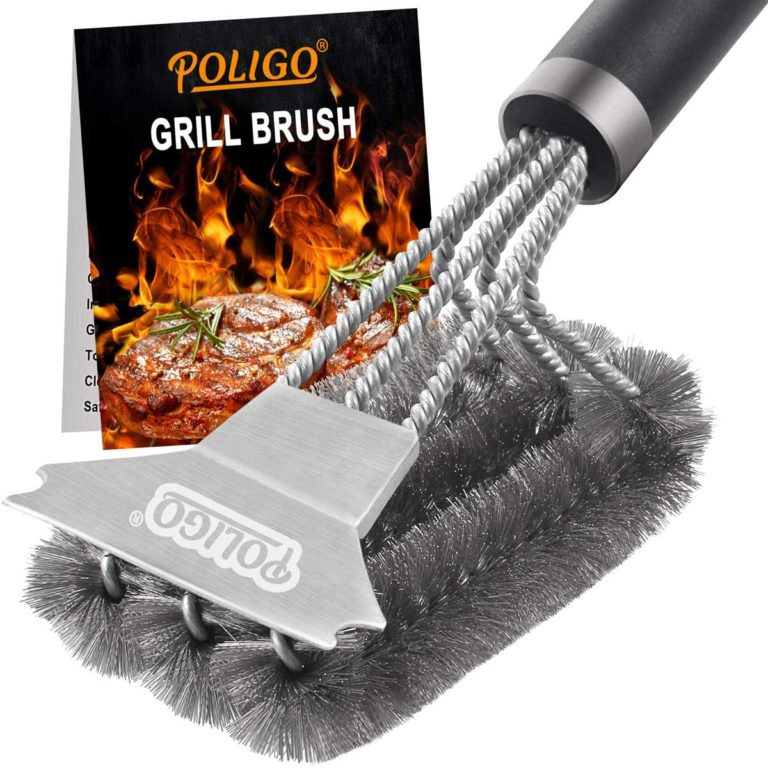 POLIGO Grill Brush