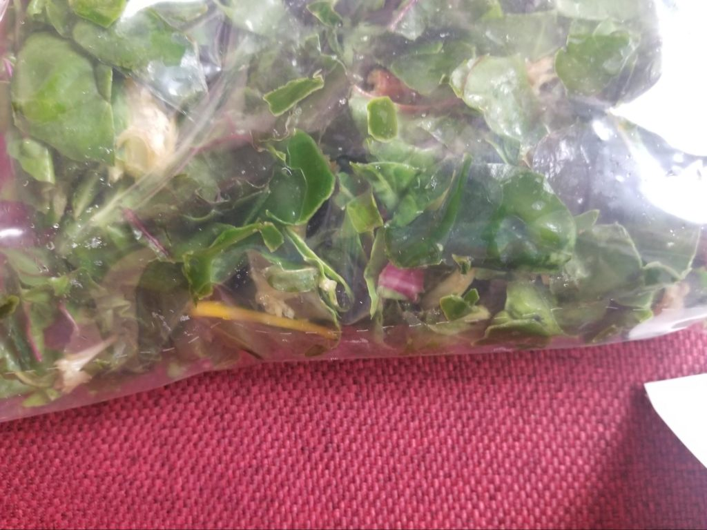 Photo of chard from Sun Basket